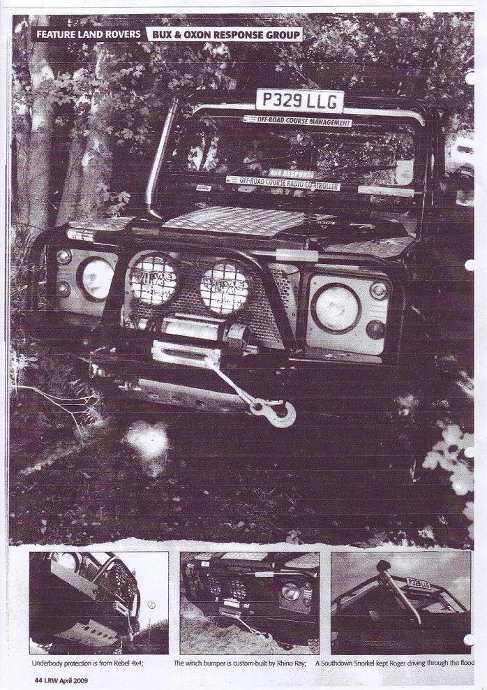 LRW page - April 2009